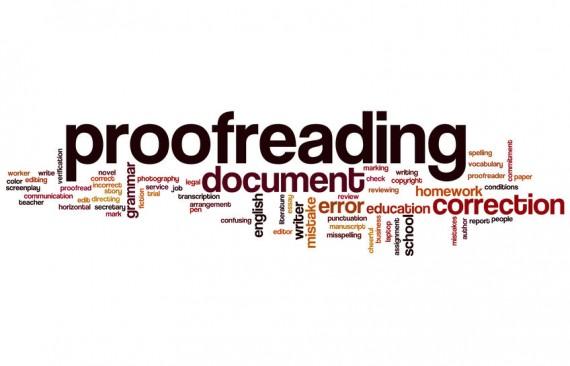 Korrekturlesen von Dissertationen, Diplomarbeiten, Bachelorarbeiten